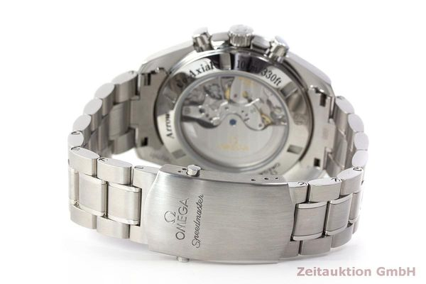 Used luxury watch Omega Speedmaster chronograph steel automatic Kal. 3313 Ref. 32110445002001  | 162535 12
