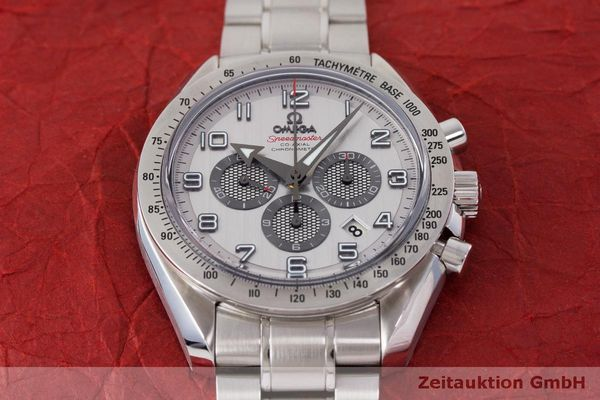 Used luxury watch Omega Speedmaster chronograph steel automatic Kal. 3313 Ref. 32110445002001  | 162535 17