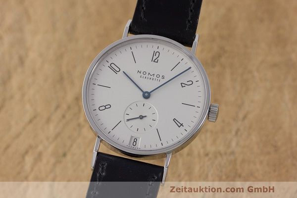 NOMOS TANGENTE STEEL MANUAL WINDING KAL. BETA LP: 2080EUR [162536]