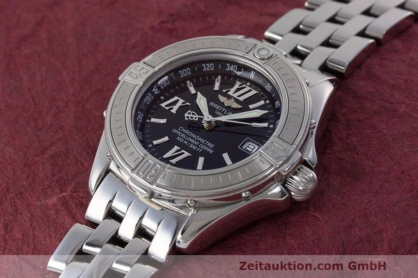 Used luxury watch Breitling B-Class steel quartz Kal. B71 ETA 956852 Ref. A71365  | 162538 01