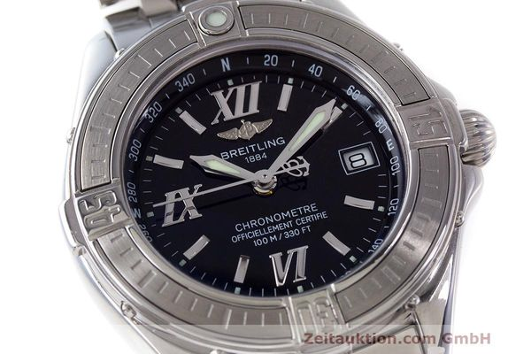 Used luxury watch Breitling B-Class steel quartz Kal. B71 ETA 956852 Ref. A71365  | 162538 02