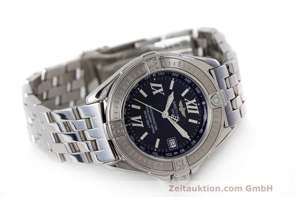 Used luxury watch Breitling B-Class steel quartz Kal. B71 ETA 956852 Ref. A71365  | 162538 03