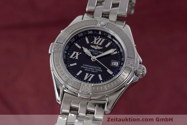 Used luxury watch Breitling B-Class steel quartz Kal. B71 ETA 956852 Ref. A71365  | 162538 04