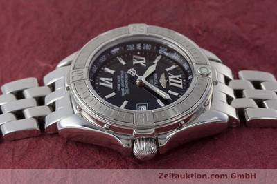 BREITLING LADY B-CLASS EDELSTAHL DAMENUHR A71365 FULL SET VP: 4000,- EURO [162538]