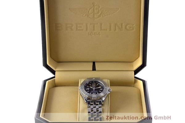 Used luxury watch Breitling B-Class steel quartz Kal. B71 ETA 956852 Ref. A71365  | 162538 07