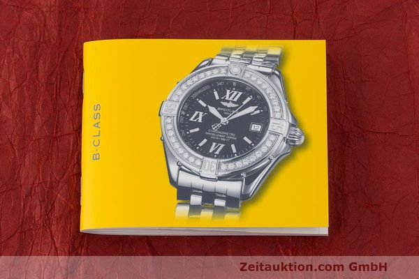 Used luxury watch Breitling B-Class steel quartz Kal. B71 ETA 956852 Ref. A71365  | 162538 12