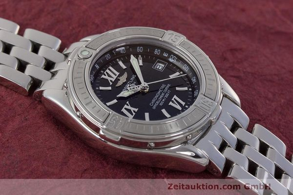 Used luxury watch Breitling B-Class steel quartz Kal. B71 ETA 956852 Ref. A71365  | 162538 16