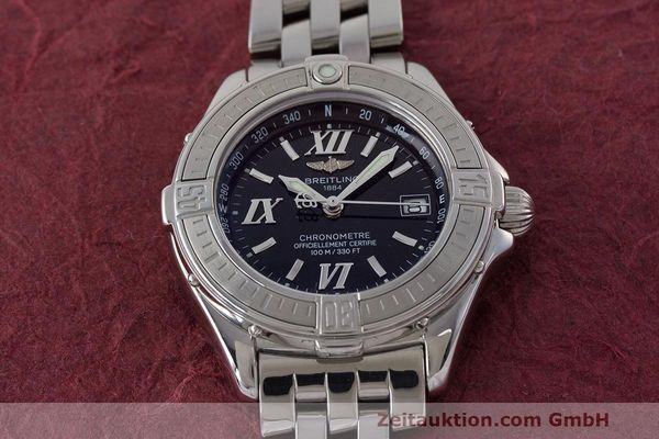 Used luxury watch Breitling B-Class steel quartz Kal. B71 ETA 956852 Ref. A71365  | 162538 17