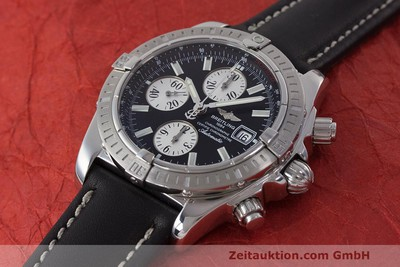 BREITLING EVOLUTION CHRONOGRAPH STEEL AUTOMATIC KAL. B13 ETA 7750 LP: 6750EUR [162546]