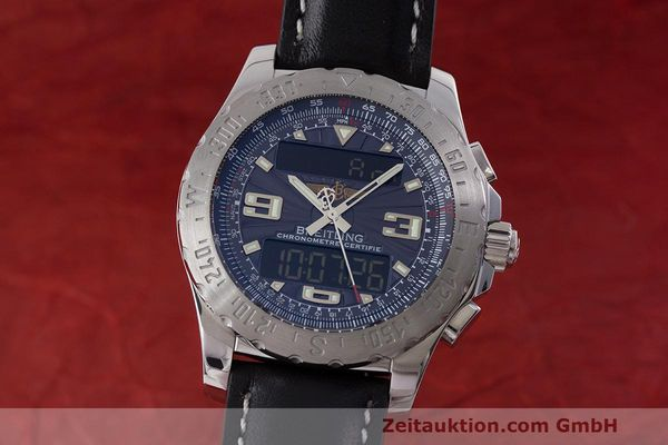 BREITLING AIRWOLF CHRONOGRAPH STEEL QUARTZ KAL. B78 ETA 20.351 [162552]