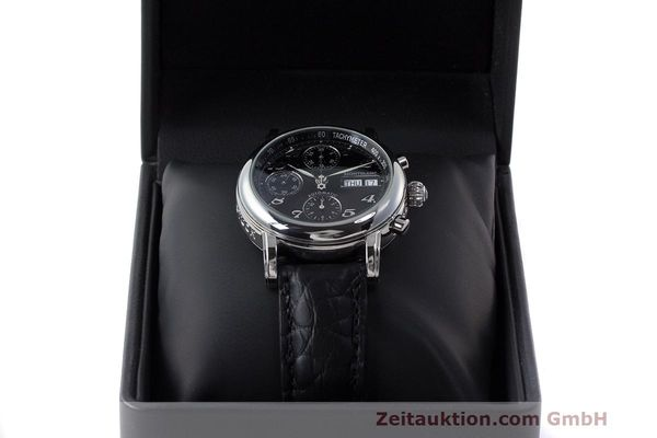 Used luxury watch Montblanc Meisterstück chronograph steel automatic Kal. 4810501 Ref. 7016  | 162554 07