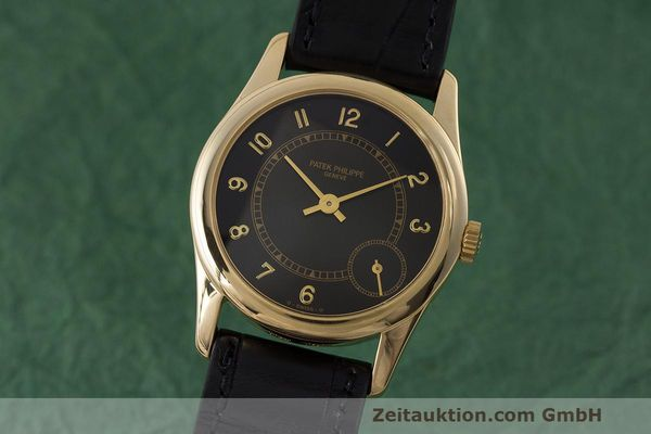 PATEK PHILIPPE CALATRAVA OR 18 CT AUTOMATIQUE KAL. 240PS [162562]