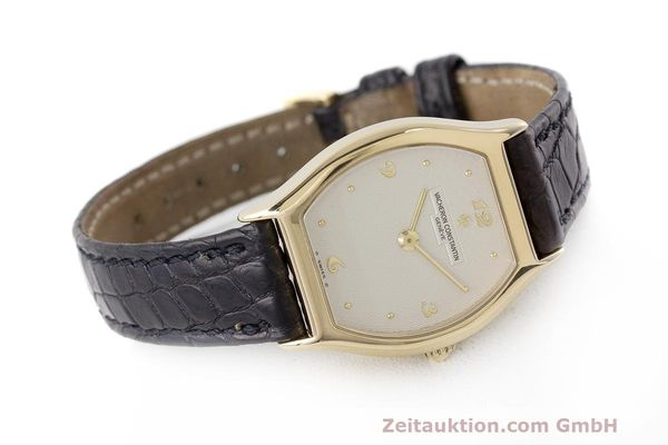 Used luxury watch Vacheron & Constantin * 18 ct gold manual winding Kal. 1055 Ref. 10150  | 162563 03