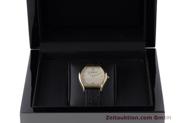 Used luxury watch Vacheron & Constantin * 18 ct gold manual winding Kal. 1055 Ref. 10150  | 162563 07