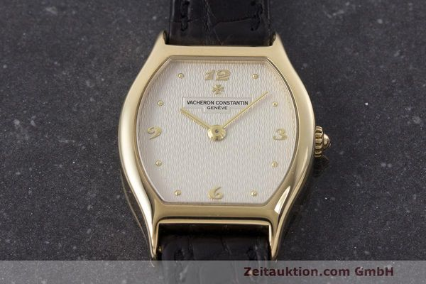 Used luxury watch Vacheron & Constantin * 18 ct gold manual winding Kal. 1055 Ref. 10150  | 162563 15
