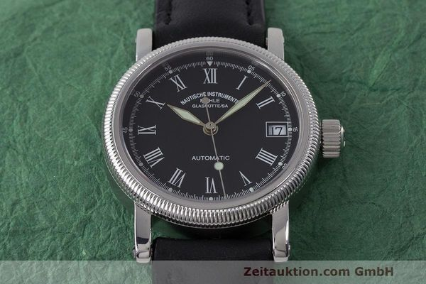 Used luxury watch Mühle * steel automatic Kal. ETA 2824-2 Ref. M1-31-60  | 162568 15