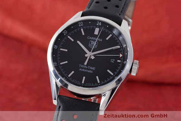 TAG HEUER CARRERA STEEL AUTOMATIC KAL. 7 ETA 2893-2 LP: 2600EUR [162569]