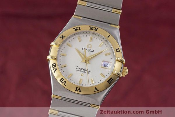 Used luxury watch Omega Constellation steel / gold automatic Kal. 725 ETA 2000  | 162571 04