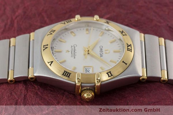 Used luxury watch Omega Constellation steel / gold automatic Kal. 725 ETA 2000  | 162571 05