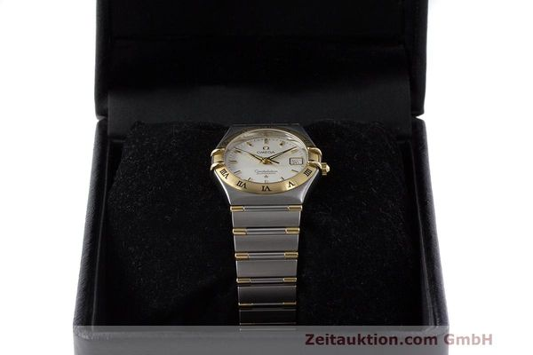 Used luxury watch Omega Constellation steel / gold automatic Kal. 725 ETA 2000  | 162571 07