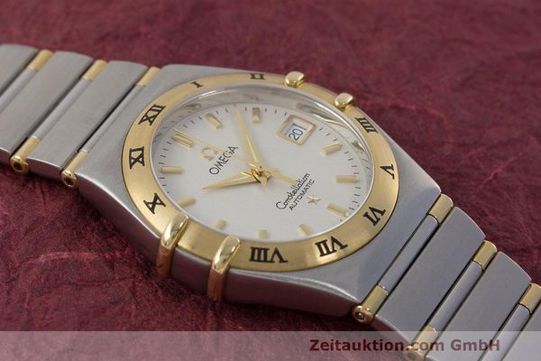 Used luxury watch Omega Constellation steel / gold automatic Kal. 725 ETA 2000  | 162571 15