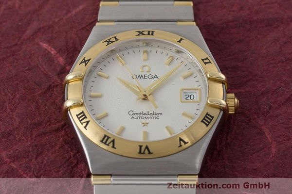 Used luxury watch Omega Constellation steel / gold automatic Kal. 725 ETA 2000  | 162571 16