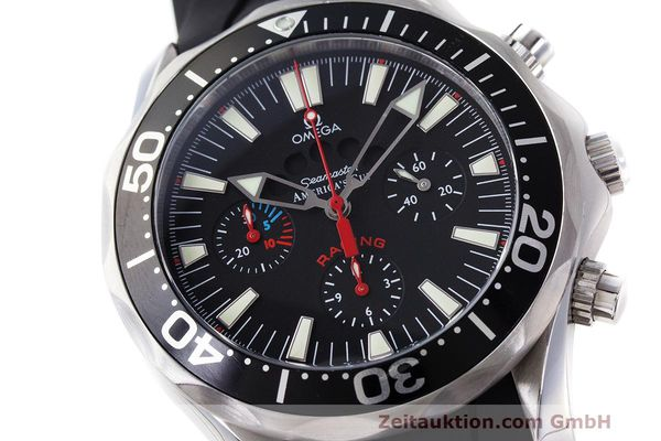 Used luxury watch Omega Seamaster chronograph steel automatic Kal. 3602 Ref. 28695091  | 162572 02