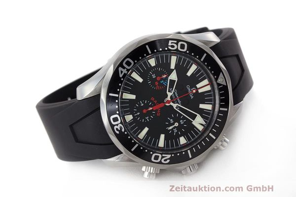 Used luxury watch Omega Seamaster chronograph steel automatic Kal. 3602 Ref. 28695091  | 162572 03
