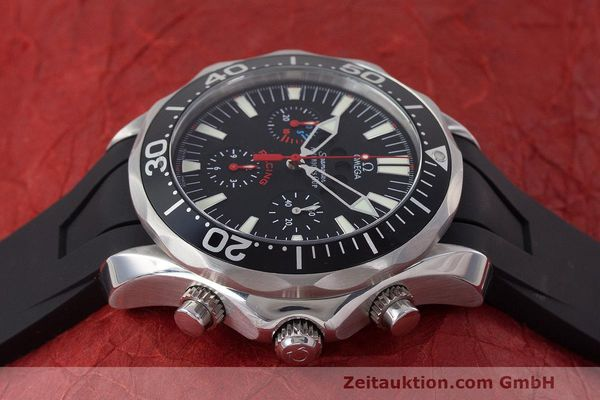 Used luxury watch Omega Seamaster chronograph steel automatic Kal. 3602 Ref. 28695091  | 162572 05