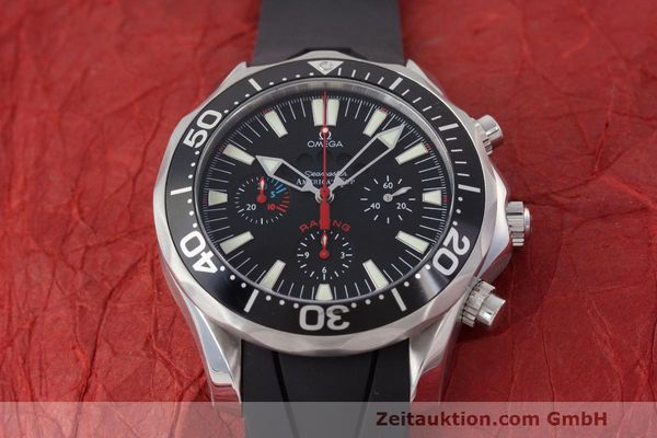 Used luxury watch Omega Seamaster chronograph steel automatic Kal. 3602 Ref. 28695091  | 162572 17