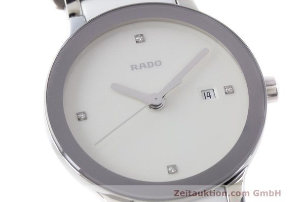 Used luxury watch Rado Centrix ceramic / steel quartz Kal. ETA 956.112 Ref. 111.0928.3  | 162574 02