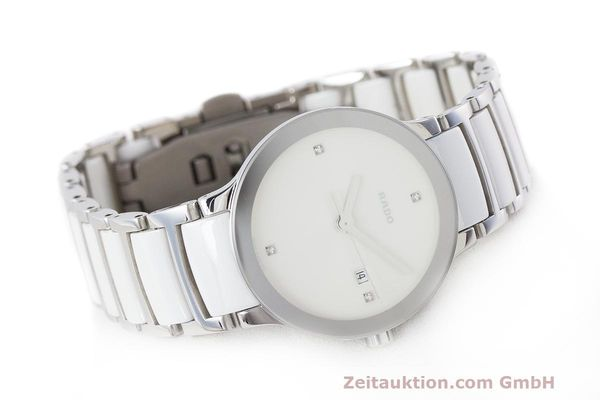 Used luxury watch Rado Centrix ceramic / steel quartz Kal. ETA 956.112 Ref. 111.0928.3  | 162574 03
