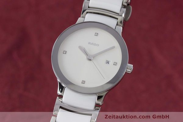 Used luxury watch Rado Centrix ceramic / steel quartz Kal. ETA 956.112 Ref. 111.0928.3  | 162574 04