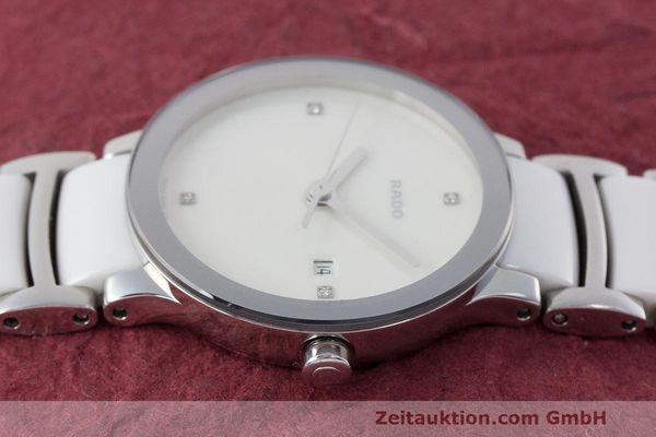Used luxury watch Rado Centrix ceramic / steel quartz Kal. ETA 956.112 Ref. 111.0928.3  | 162574 05