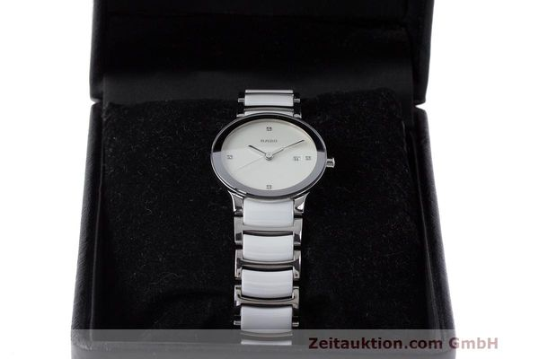 Used luxury watch Rado Centrix ceramic / steel quartz Kal. ETA 956.112 Ref. 111.0928.3  | 162574 07