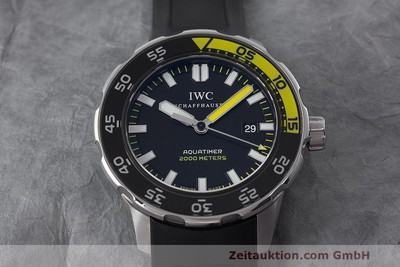 IWC AQUATIMER STEEL AUTOMATIC KAL. 30110 LP: 4940EUR [162578]