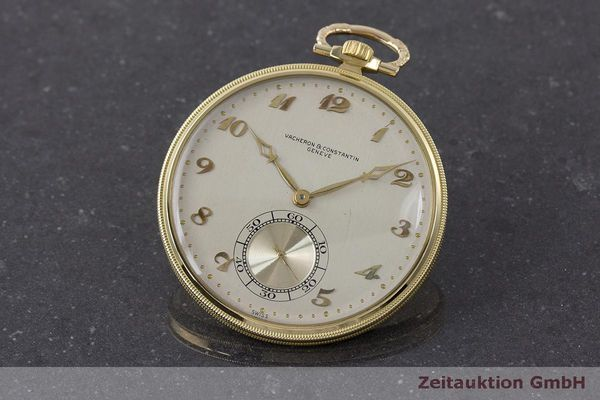 VACHERON & CONSTANTIN POCKET WATCH 18 CT GOLD MANUAL WINDING [162581]