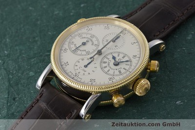 CHRONOSWISS RATTRAPANTE CHRONOGRAPH STAHL / GOLD CH7322 NP: 13400,- Euro [162589]