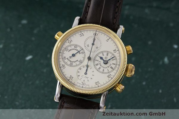 CHRONOSWISS CHRONOGRAPHE ACIER / OR  AUTOMATIQUE KAL. 732  [162589]