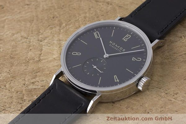 Used luxury watch Nomos Tangomat steel automatic Kal. Epsilon  | 162593 01