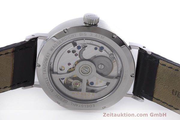 Used luxury watch Nomos Tangomat steel automatic Kal. Epsilon  | 162593 09