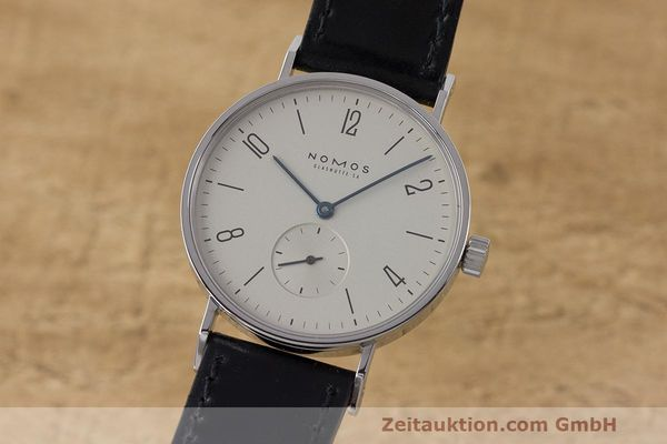 NOMOS TANGENTE STEEL MANUAL WINDING KAL. ETA 7001 LP: 1580EUR [162600]