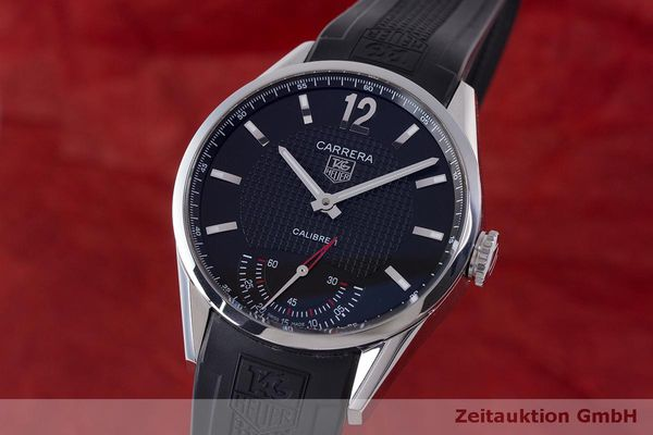 TAG HEUER CARRERA STEEL MANUAL WINDING KAL. 1 ETA 6498-1  [162601]
