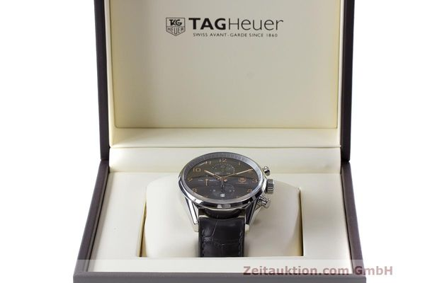 Used luxury watch Tag Heuer Carrera chronograph steel automatic Kal. 1887 Ref. CAR2013-2  | 162603 07