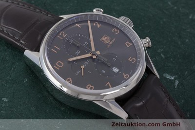 TAG HEUER CARRERA CHRONOGRAPH STEEL AUTOMATIC KAL. 1887 LP: 4300EUR [162603]
