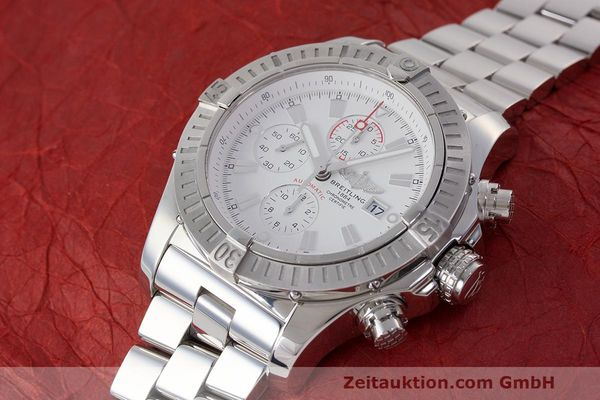 Used luxury watch Breitling Avenger chronograph steel automatic Kal. B13 ETA 7750 Ref. A13370  | 162607 01