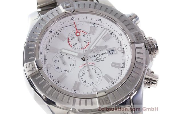 Used luxury watch Breitling Avenger chronograph steel automatic Kal. B13 ETA 7750 Ref. A13370  | 162607 02