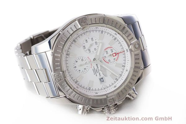Used luxury watch Breitling Avenger chronograph steel automatic Kal. B13 ETA 7750 Ref. A13370  | 162607 03