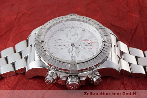 Used luxury watch Breitling Avenger chronograph steel automatic Kal. B13 ETA 7750 Ref. A13370  | 162607 05