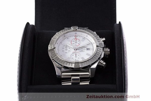 Used luxury watch Breitling Avenger chronograph steel automatic Kal. B13 ETA 7750 Ref. A13370  | 162607 07